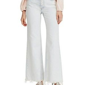 Free People High Rise Strait Flare Jean 25